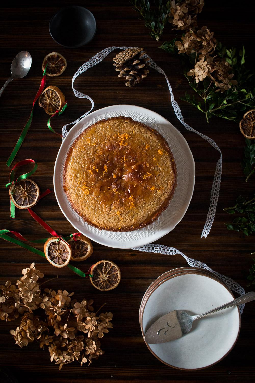 Orange Spelt Cake | Linden & Lavender