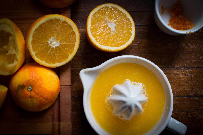Fresh Orange juice | Linden & Lavender