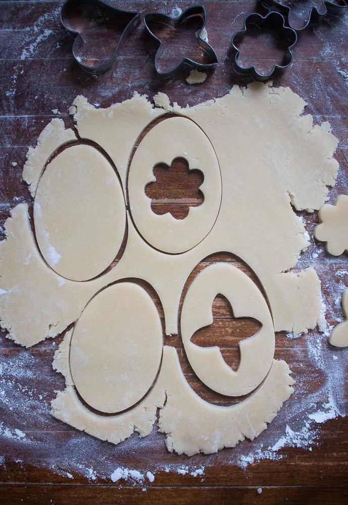 Cutting Sugar Cookie Dough | Linden & Lavender