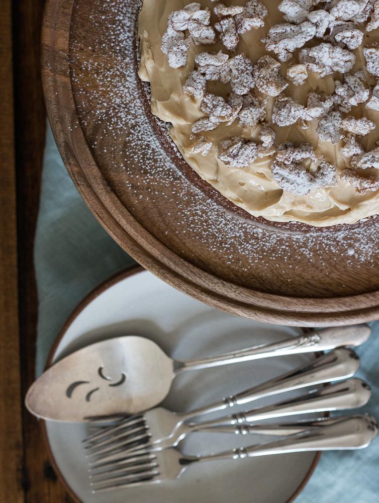 Walnut Coffee Cake   Linden & Lavender