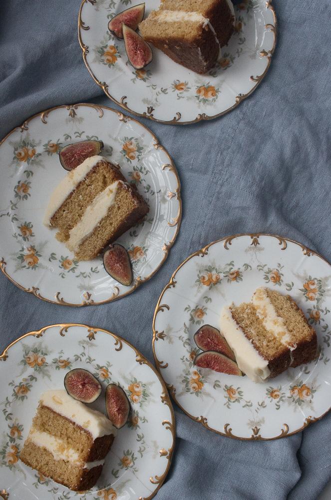 Earl Grey Cake | Linden & Lavender