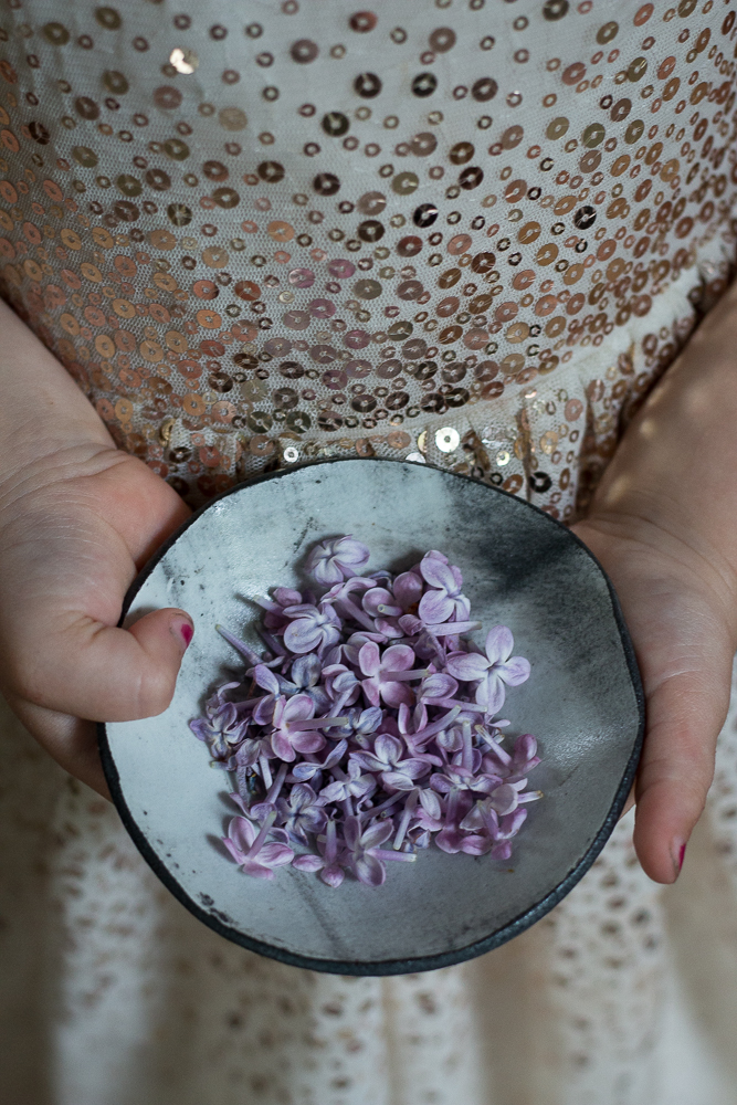 Lilac flowers and a princess dress | Linden & Lavender