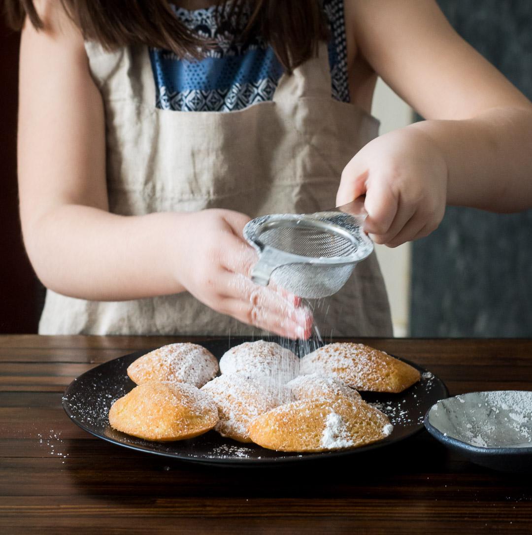 Lemon Spelt Flour Madeleines | Linden & Lavender