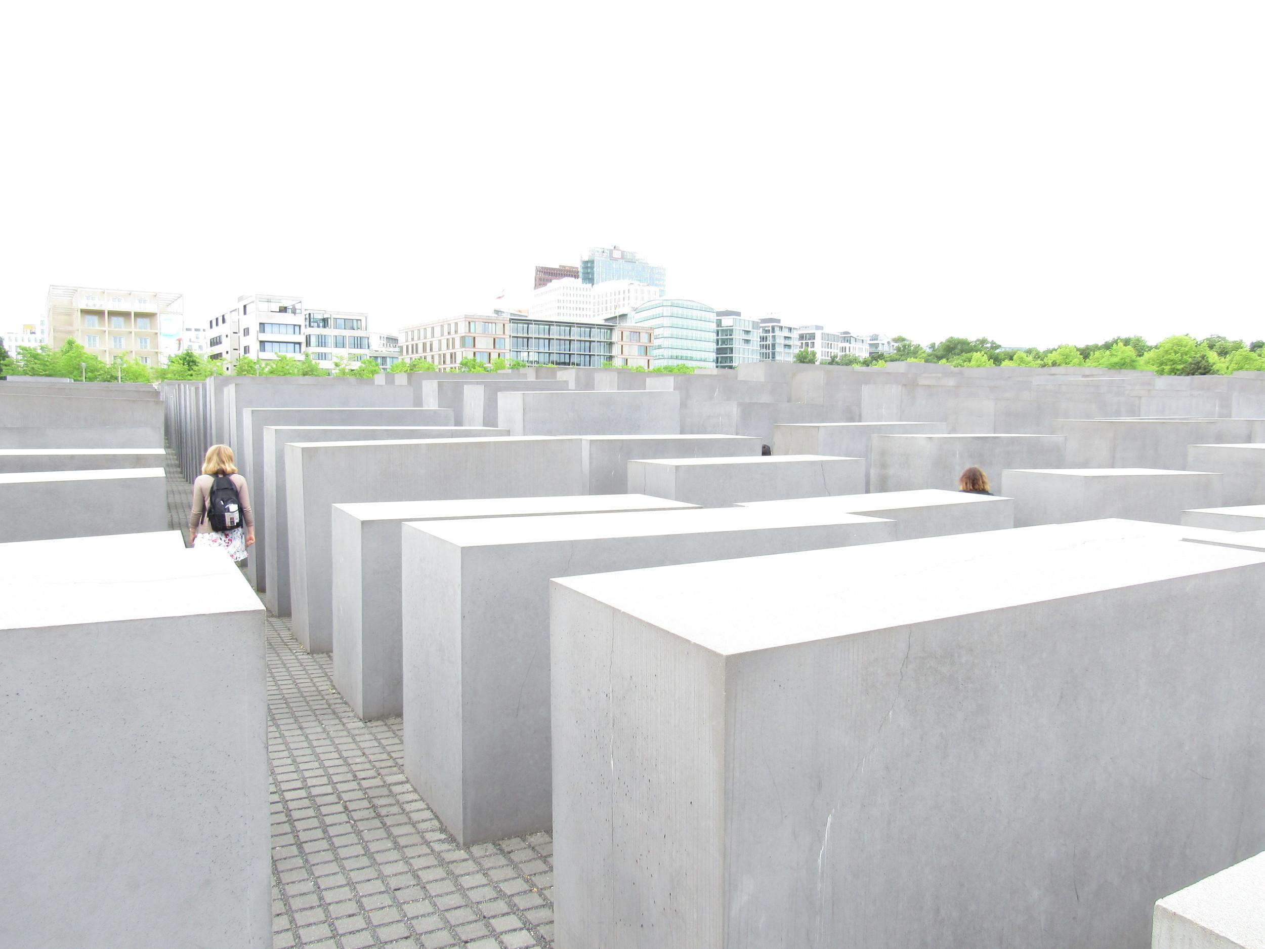 The Holocaust Memorial was beautiful.