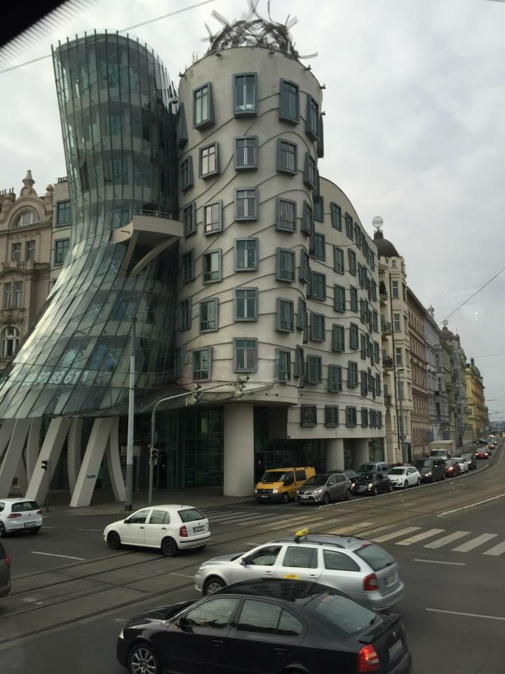 One of the coolest buildings I've ever seen. Frank Gehry - Dancing House