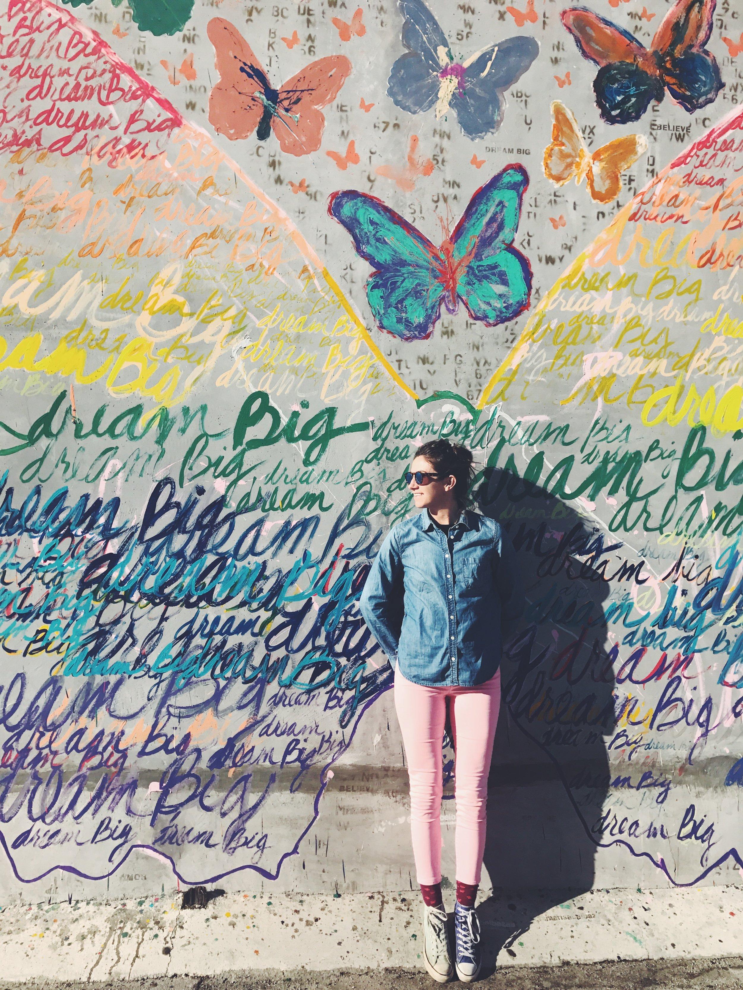 Dream Big Wall - 621 N La Cienega Blvd, West Hollywood