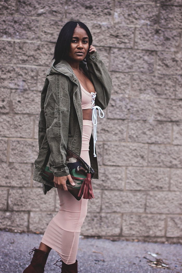 How To Style Camo Print