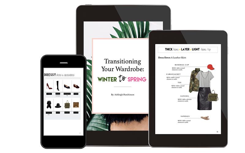 Transitioning Wardrobe: Winter to Spring