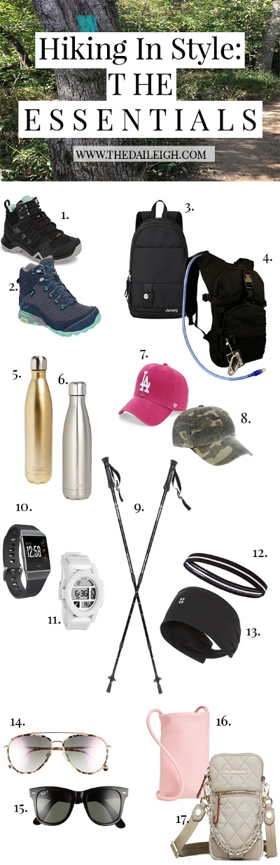 Hiking In Style: The Essentials