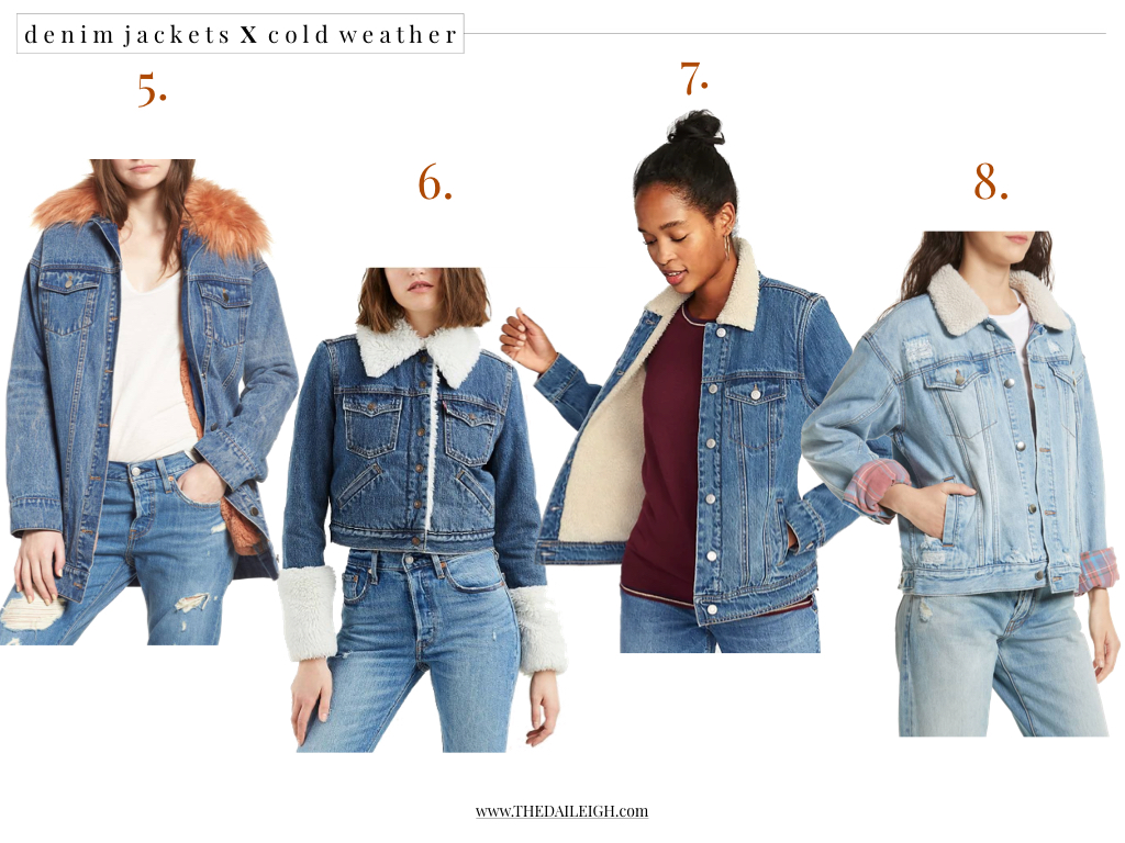 Denim Jackets For Cold Weather