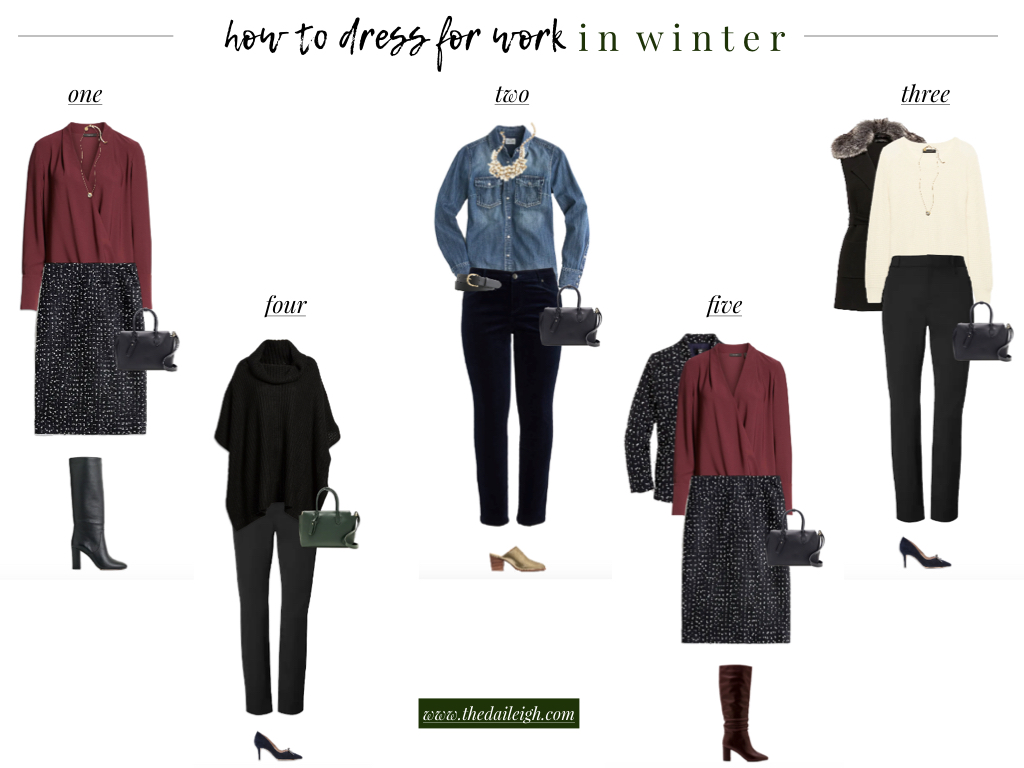 How To Dress For Work In Winter