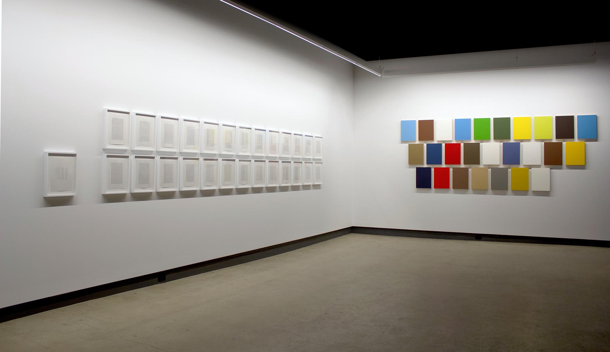 © Nelson Henricks, vue de l'exposition  A Lecture on Art  (2015). Photo : Veronica Mockler.