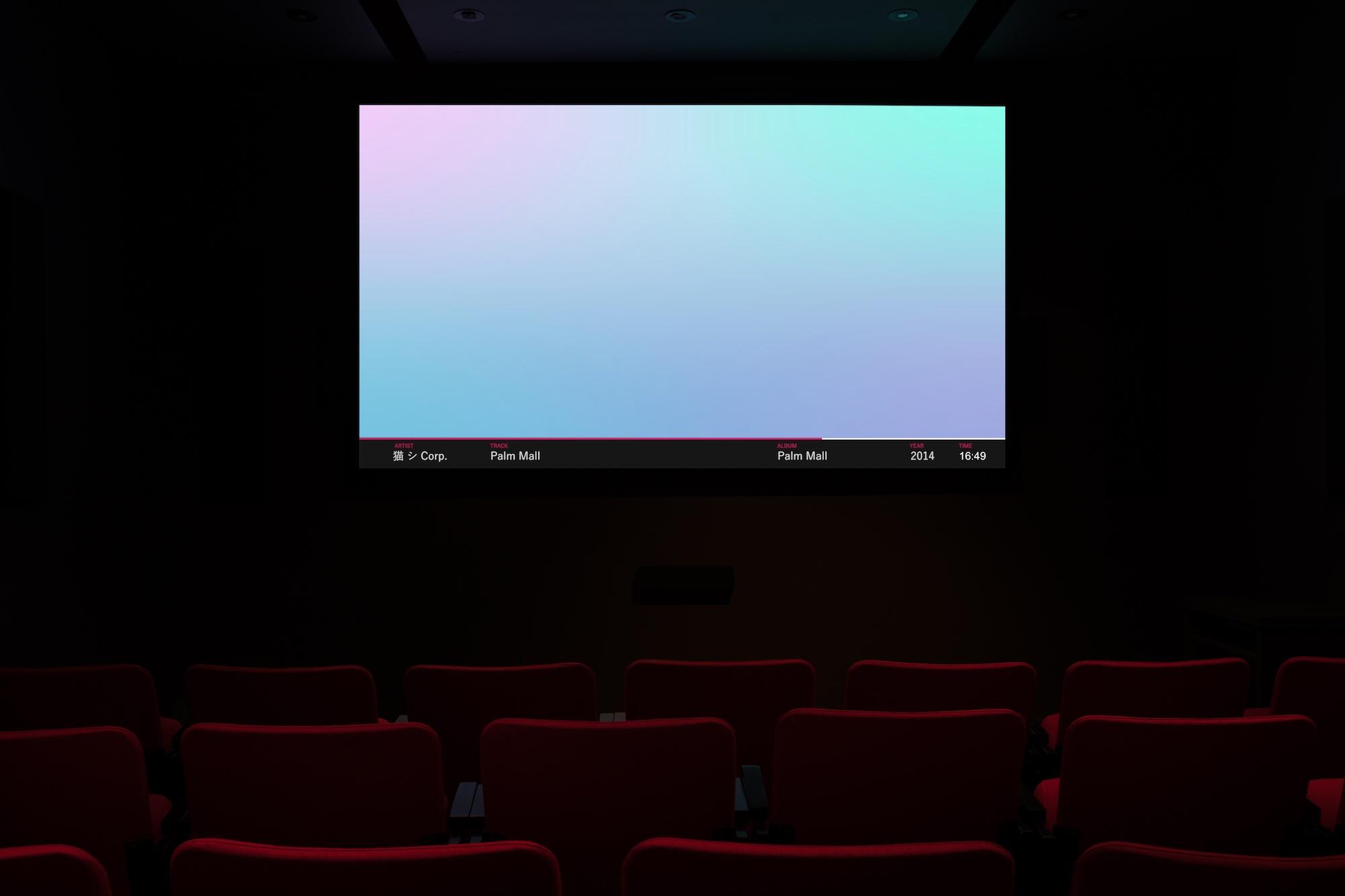 ©  #mallsoft: Reflections On A Dead Genre , un projet préparé par Douglas Moffat(2019). Vue de l'exposition. Photo : Marilou Crispin.