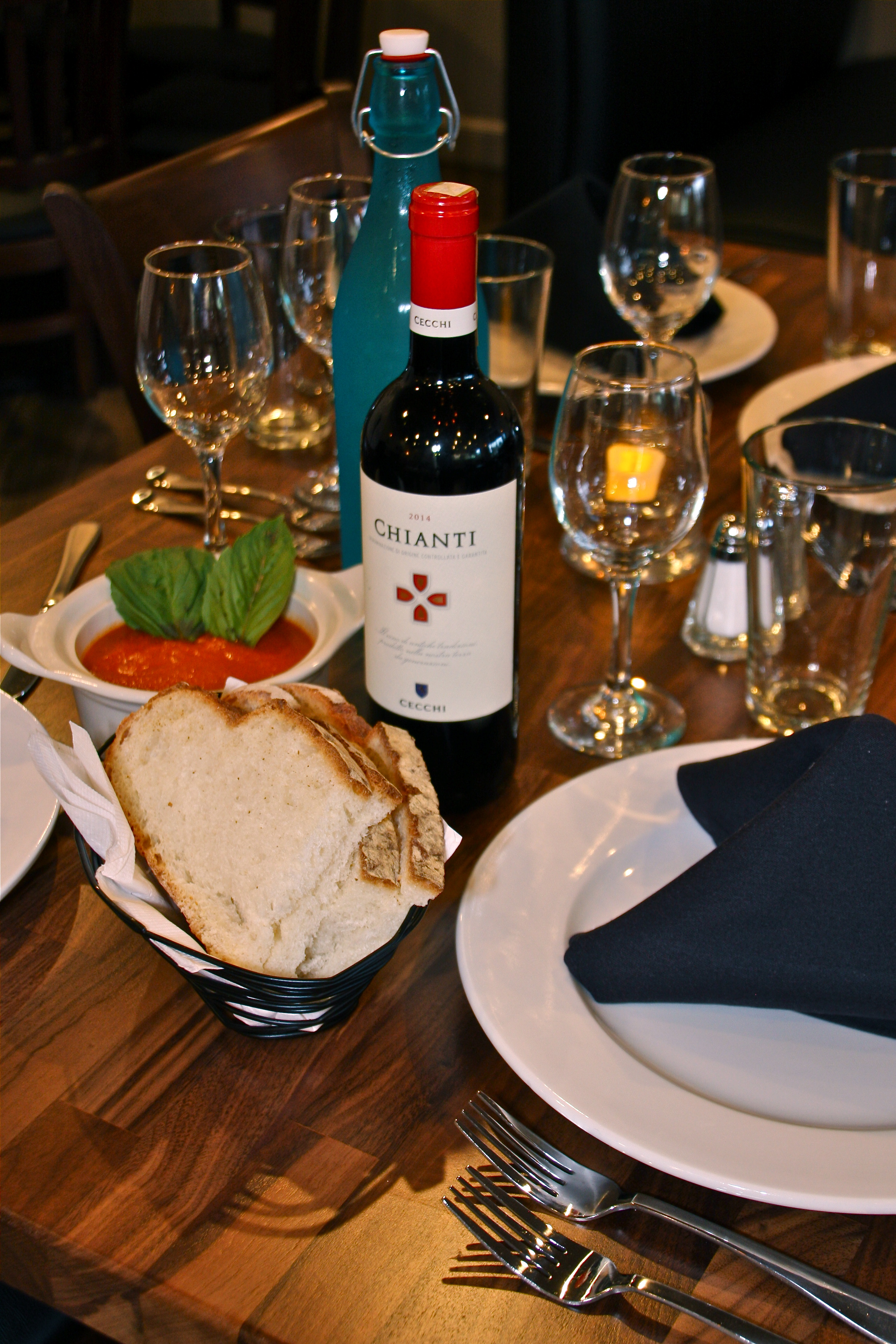 A truly authentic dining experience is awaiting you at Antico Italian Restaurant.