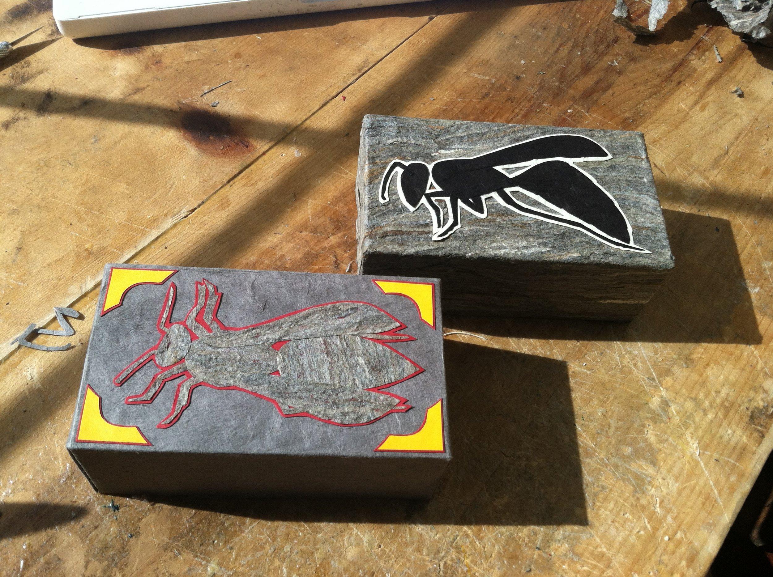 Wasp Boxes, 2014
