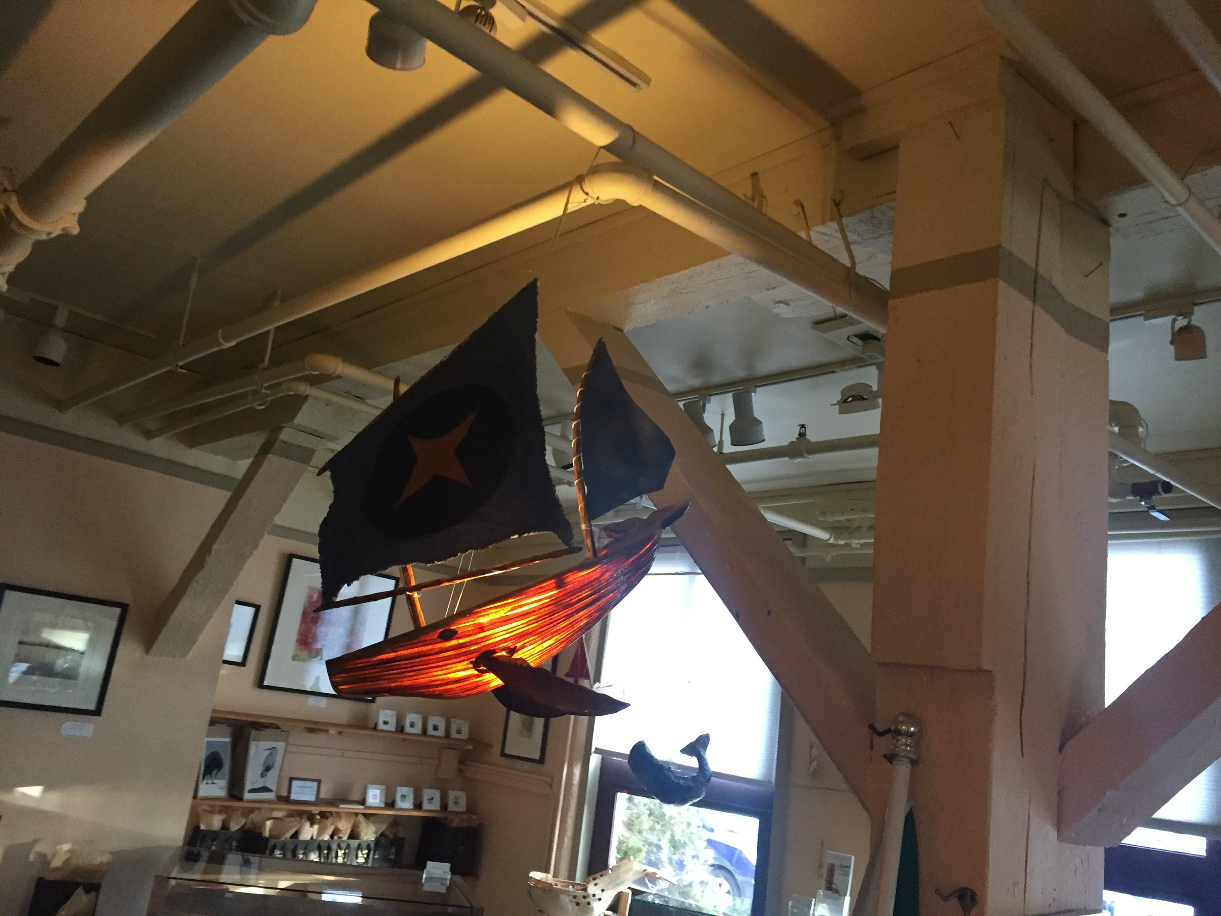 Starmoon Whaleship Lantern