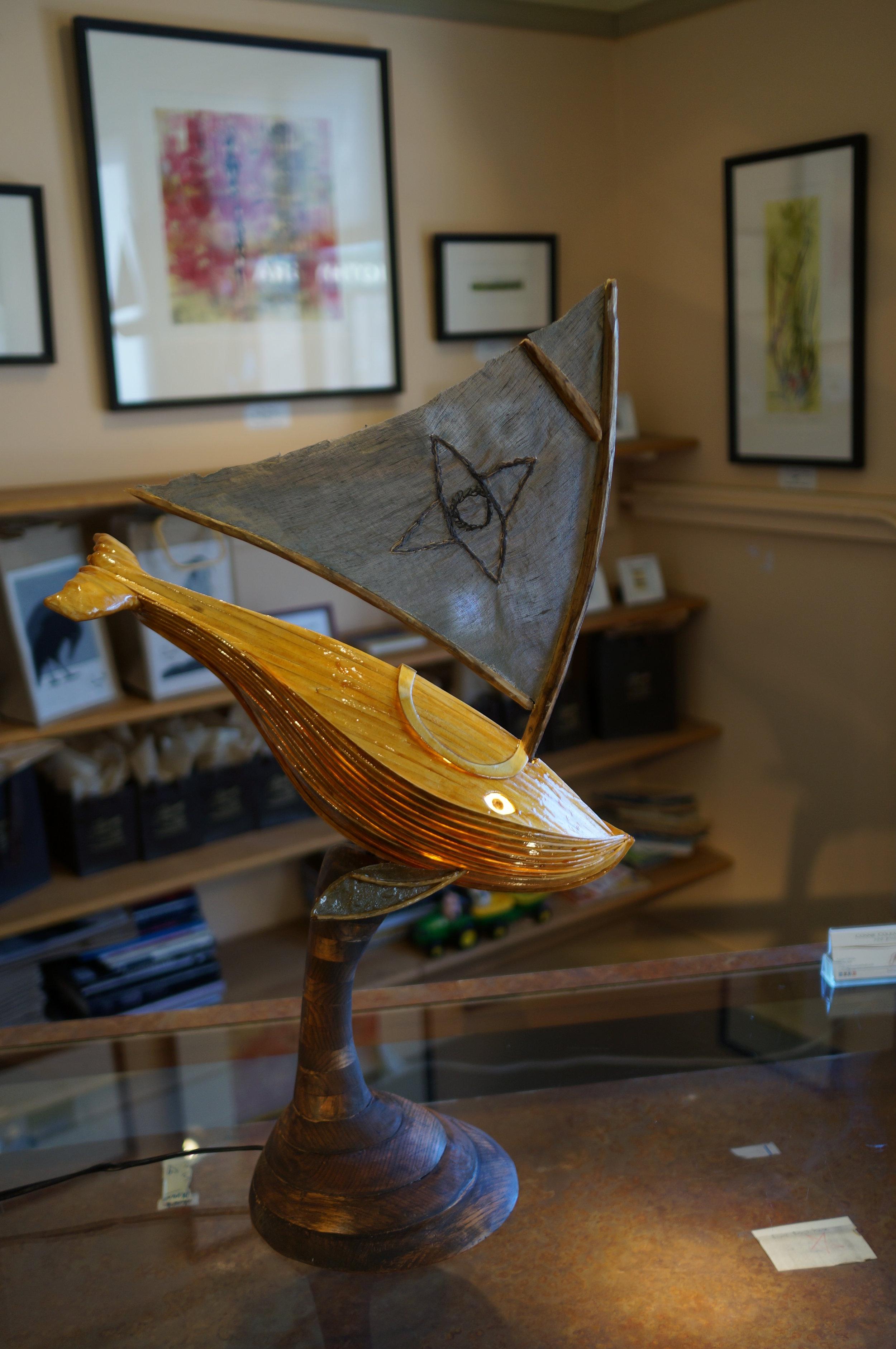 Whaleship Desklamp