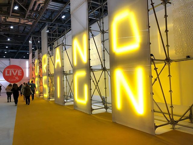 All signs say Spring at Grand Designs London #granddesigns #excellondon #southgatedesignlondon