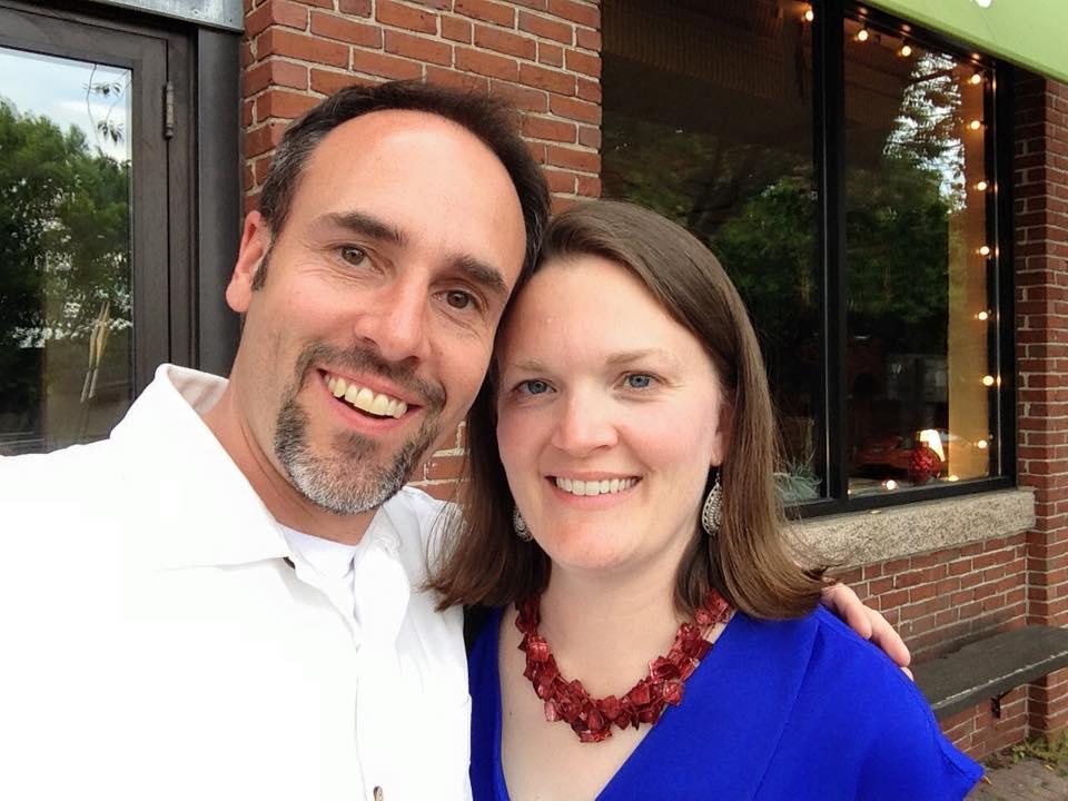 Rev. Sarah and Allen-Ewing Merrill, 2015