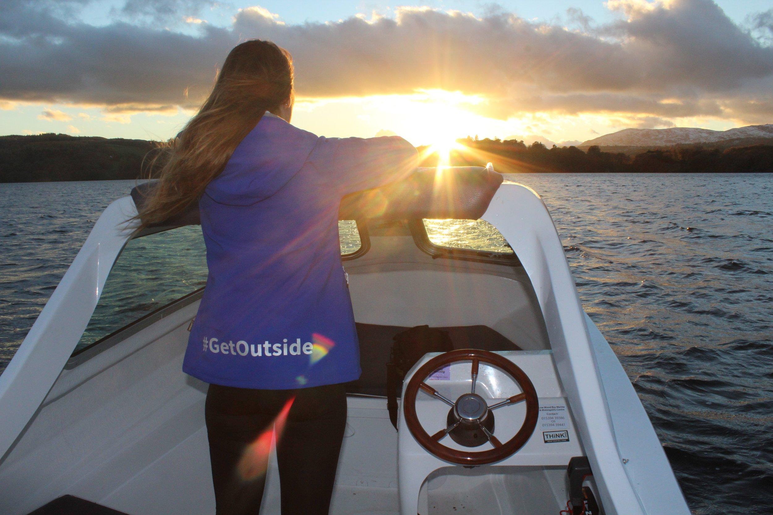 Boating on Windermere