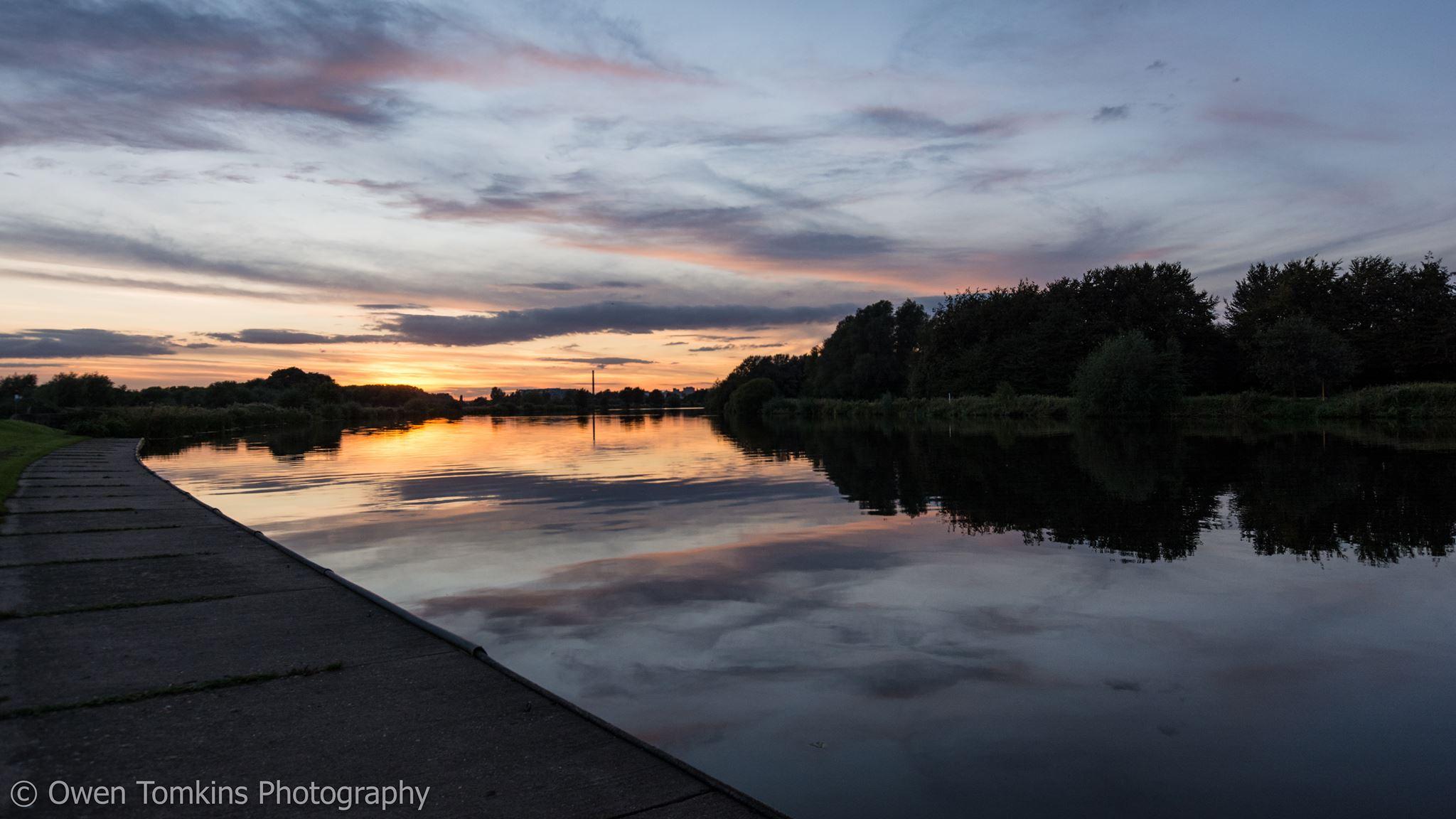 Lizzie Carr on River Trent Nottingham