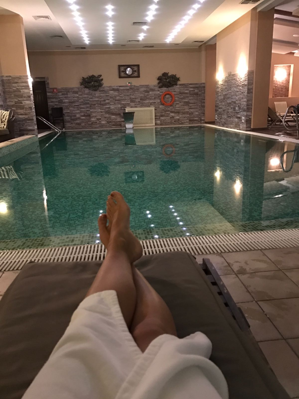 The Premier Mountain Resort hotel spa and pool - my kind of apres ski