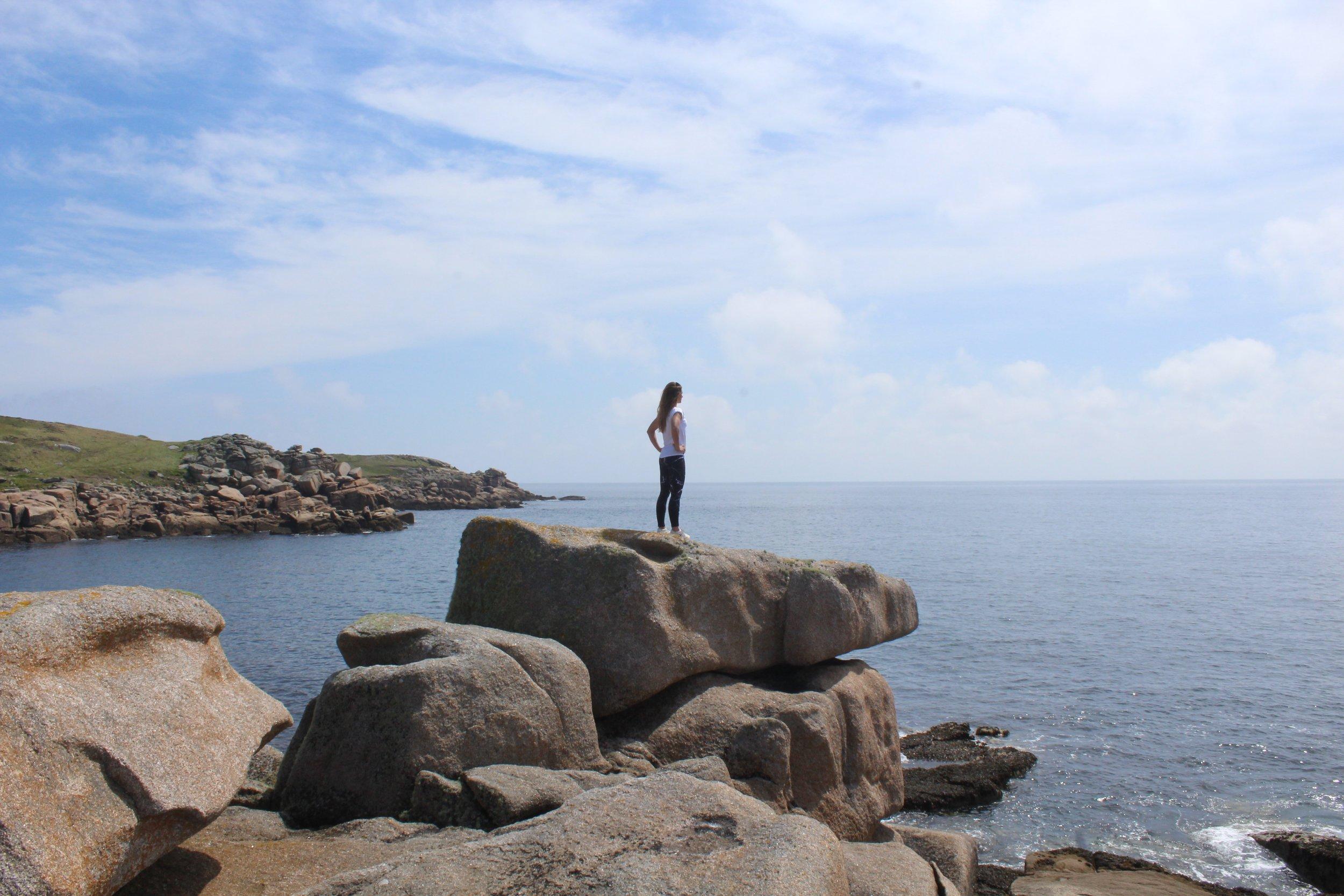 Views across the Atlantic Ocean