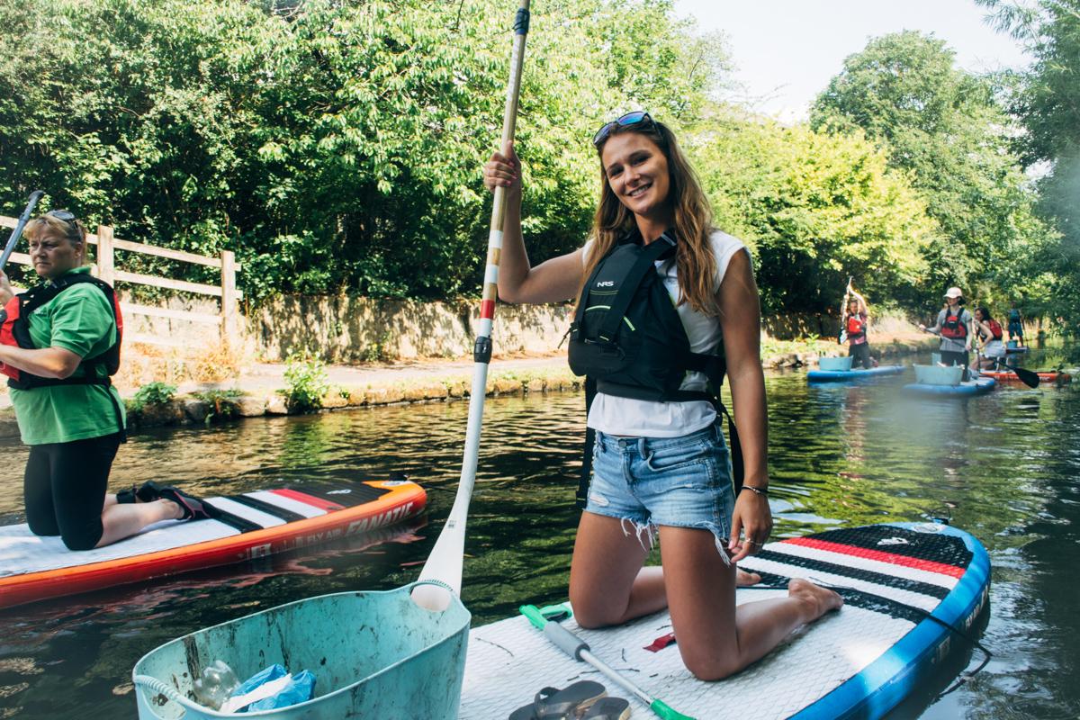 Lizzie Carr on Plastic Patrol