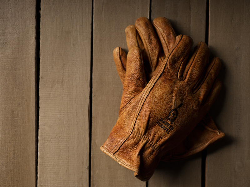 Product photography for a Nashville based glove manufacturer