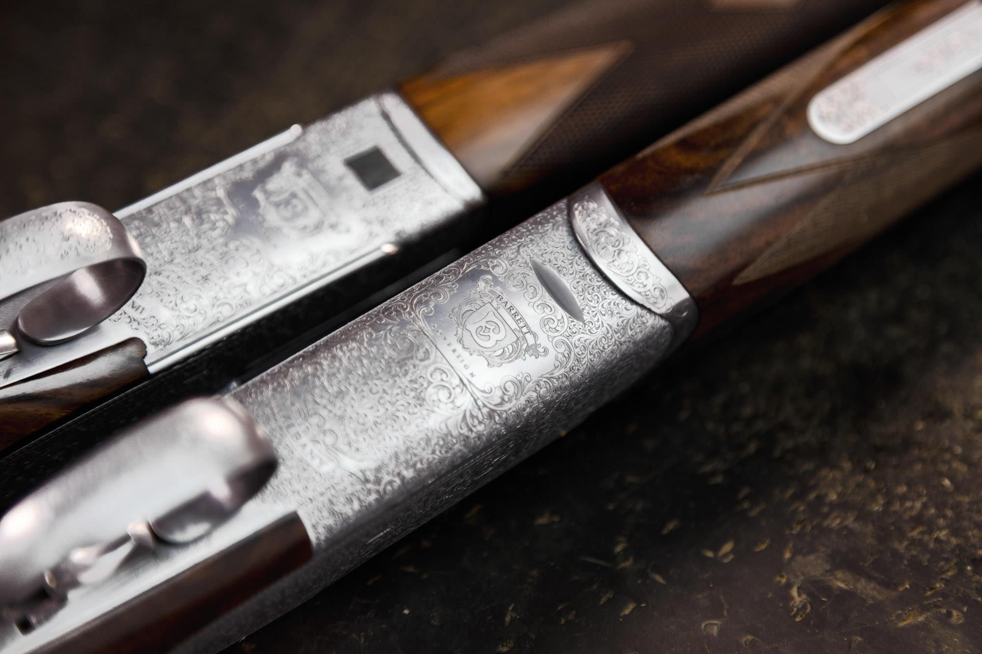 Nashville product photographers shot this image for the Barrett Gun Company