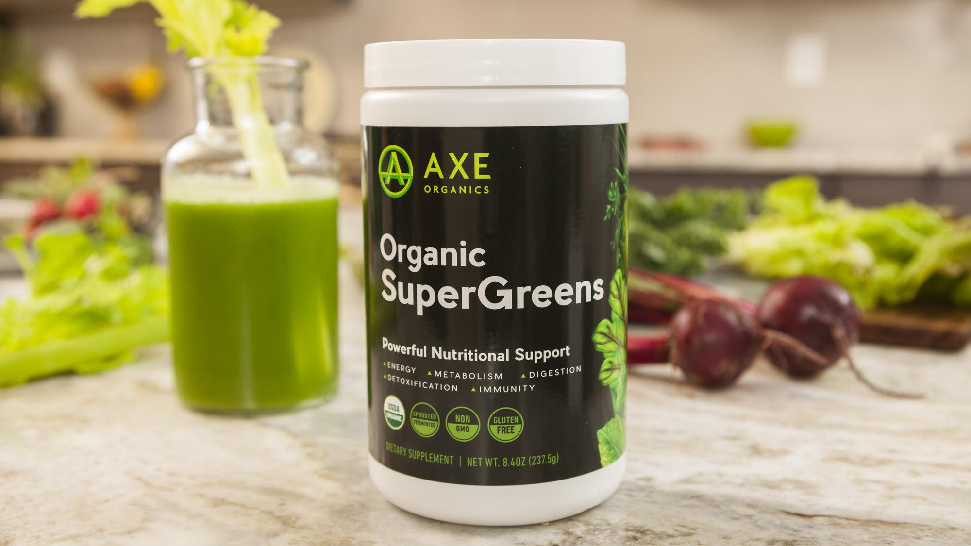 Axe organic supergreens