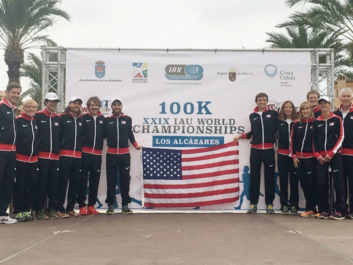 Team USA @ 100K World Champs.  Photo Credit: Traci Falbo