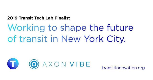 We are thrilled to be part of the inaugural @transittechlab, run by @mtanyctransit &  Partnership for NYC, to help the USA's largest transit system address some of its most pressing technology challenges  #smartcities #smartmobility #urbanmobility #mta #newyorkcity