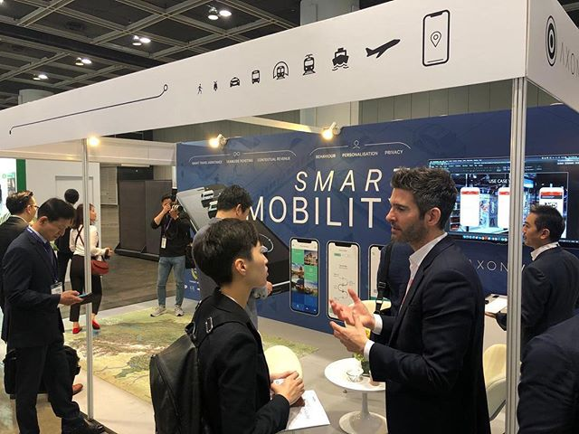 Busy morning at #AsiaPacificRail! Come and see us at booth D21. #smartmobility #rail