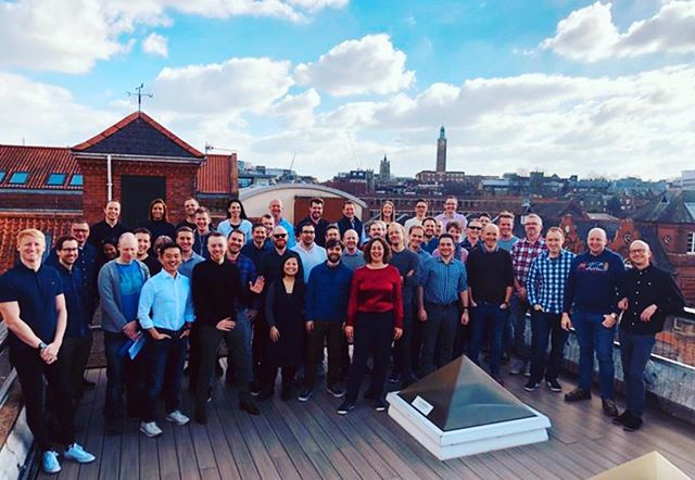 Our team is passionate about many things. One of these passions is helping to shape the future of mobility around cities. Another is having a party on a roof terrace. This week we did both in lovely Norwich, UK. #smartmobility