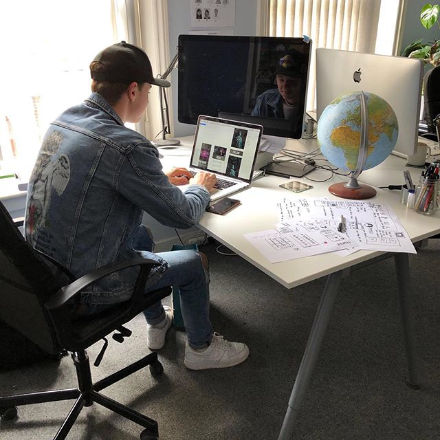 Over the past few weeks we have had an intern (Josh) immersed with our in-house design team. He has been having fun designing his own app, starting from the concept phase all the way to colouring his own pixels.  Happy 18th birthday Josh and we hope to see you back again soon!
