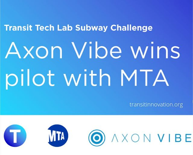 Today we were selected for a pilot with @MTA! Thank you to the @transittechlab for the opportunity to showcase our technology in NYC. We're excited to see how our technology will shape the future of mass transit for all New Yorkers  #transittechlab2019 #mta #smartmobility #smartcities #publictransport