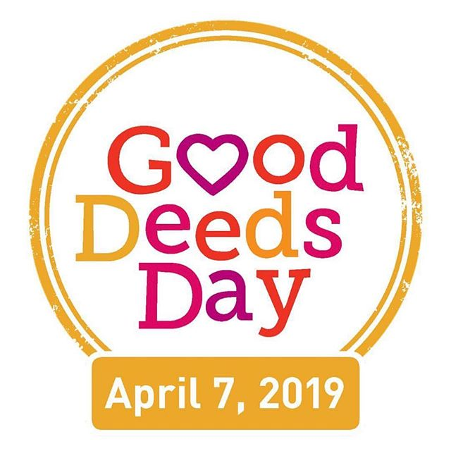 """Good Deeds Day is happening this Sunday! Join us for a day of small but powerful acts of kindness. More than 100 countries are participating, which is amazing! If you'd like to join us, here are some ideas for things you can do: . . 📍Clean up trash at area playgrounds or the beach 📍Give a free yoga lesson 📍Donate blood 📍Pay for someone's coffee 📍Do some yard work for your neighbors 📍Visit a children's hospital 📍Donate school supplies 📍Read to elderly people or create """"Get Well Soon!"""" cards 📍Go grocery shopping for someone 📍Leave positive messages on sticky notes everywhere  Share this post and invite your friends to participate. Tag friends who would like to get engaged. Let's make a ripple of kindness grow far and wide! ✨🙌🏼☺️ #gooddeedsday"""