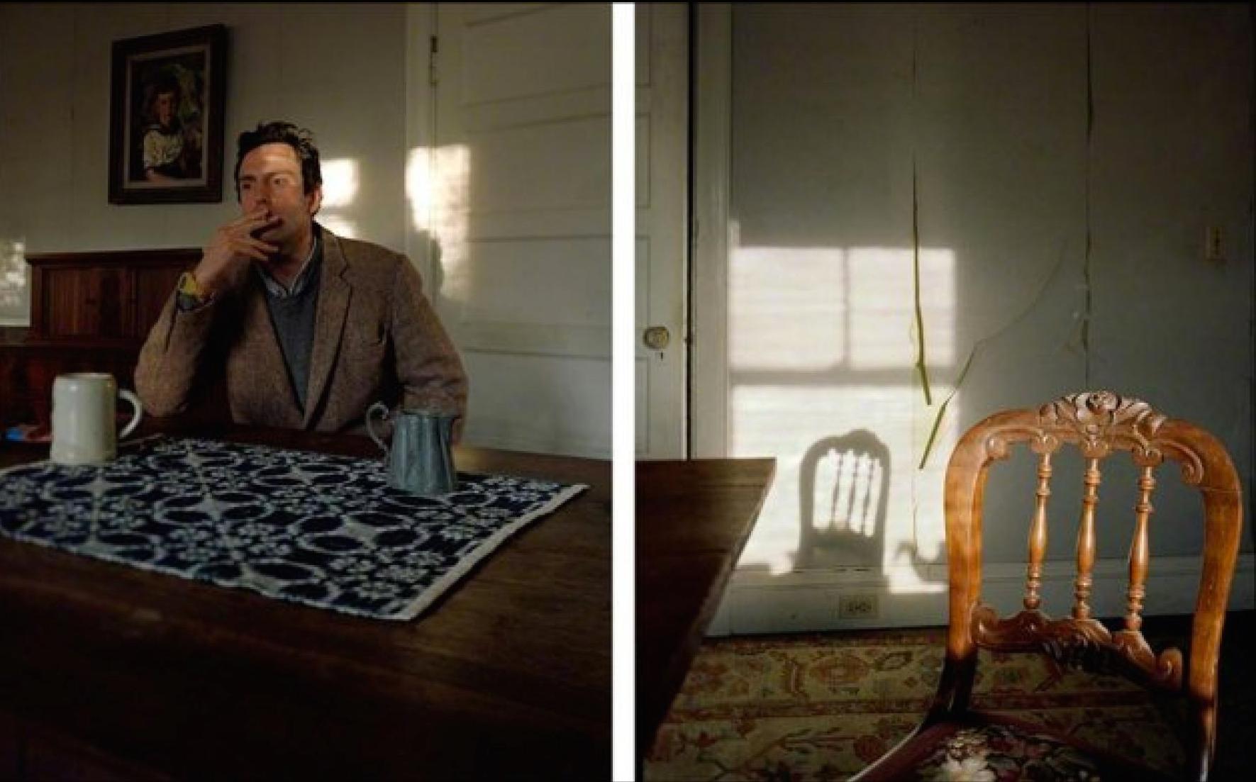David Hilliard, Smoke, 2012.
