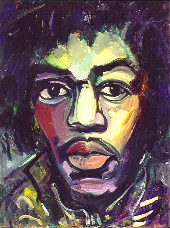 Jimi Hendrix  by Bruni Sablan