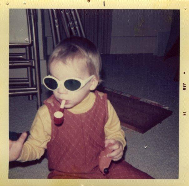 Brendan Wolfe in January 1974