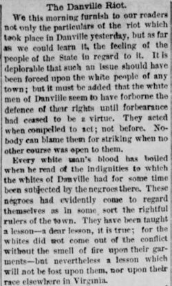 From the Richmond  Daily Dispatch , November 4, 1883, page 2
