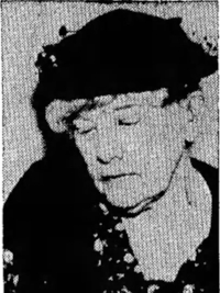 Susan Lawrence Davis, in the Miami  Daily News Record , May 3, 1937, page 7