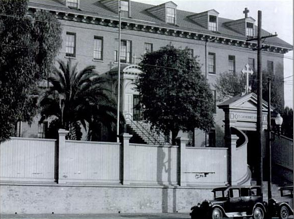 Undated photograph of Saint Catherine's Home  , 901 Potrero Avenue, San Francisco, California (Archives for the Archdiocese of San Francisco)