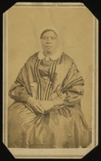 Sally Cottrell Cole  , an enslaved woman who labored at the University of Virginia (Courtesy of University of Virginia Special Collections)