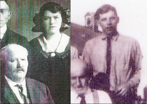 John Burke, William Burke, and Ida Burke; Maurice Wolfe and John J. Wolfe, ca. 1923