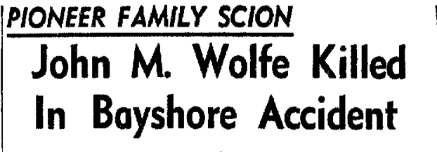 Detail from the  Daily Independent Journal  of San Rafael, California, July 13, 1951, page 6