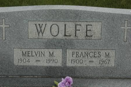 Wolfe gravestone (user aeiou02 /Ancestry.com)