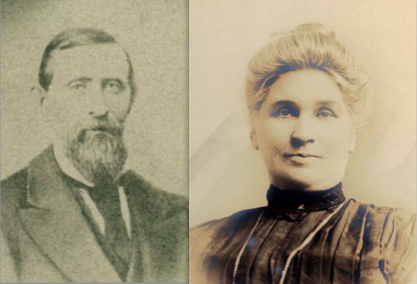 Richard Downey Wolfe and Margaret Shine Lyons Wolfe (Find a Grave / Michele McCall)