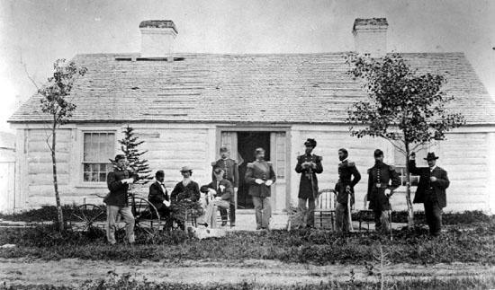 Fort Bridger, ca. 1870 (  Fort Bridger Photos  )